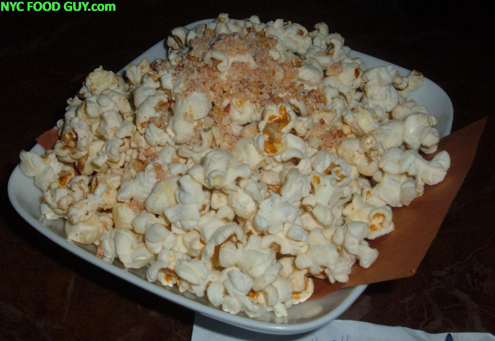 "Hopefully next time this will be ""hot"" popped corn"