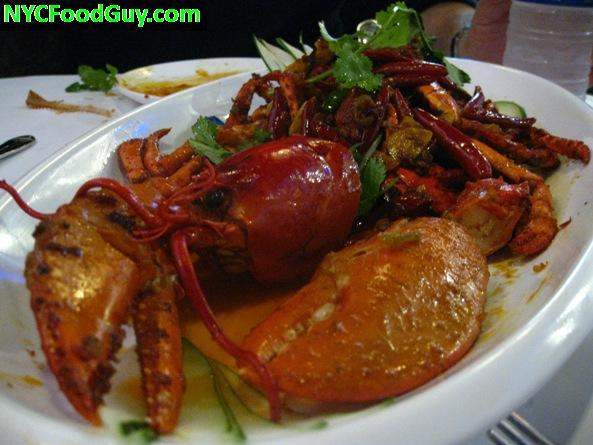 Whole Lobster Prepared Szechuan Style