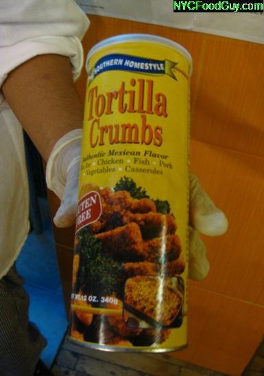 Tortilla Crumbs  - NYCFoodGuy.com