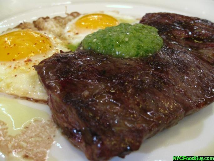 The Breslin Steak & Eggs - NYCFoodGuy.com