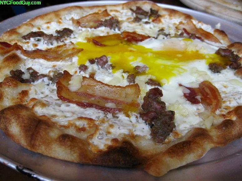Pulino's Salsiccia Pizza - NYCFoodGuy.com