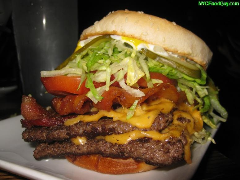 Gratuitous Food Porn: Dram Shop Bacon Cheeseburger in Park Slope ...
