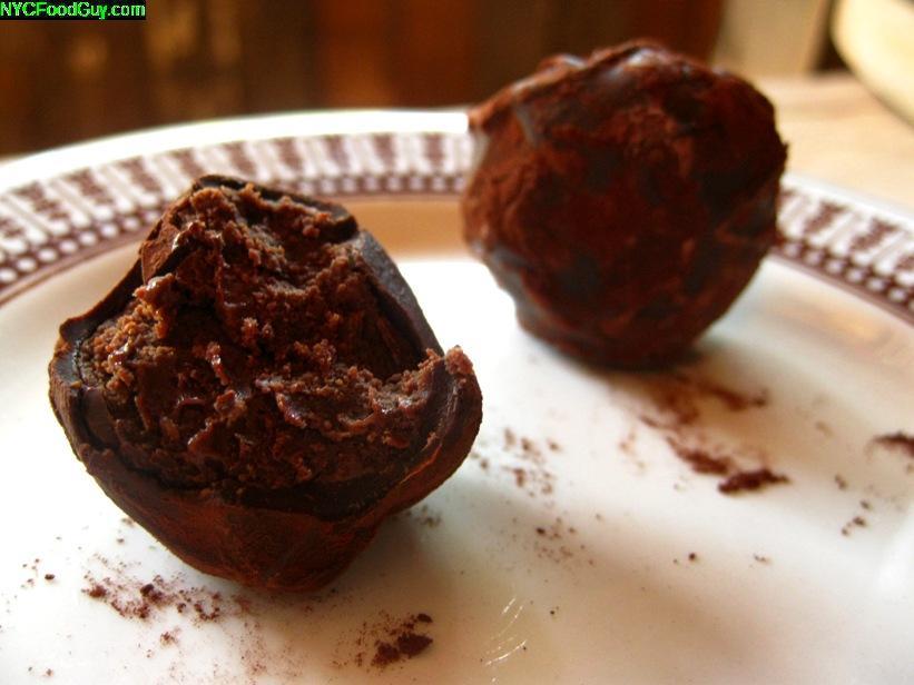 St. Anselm's Chocolate Truffles - NYCFoodGuy.com