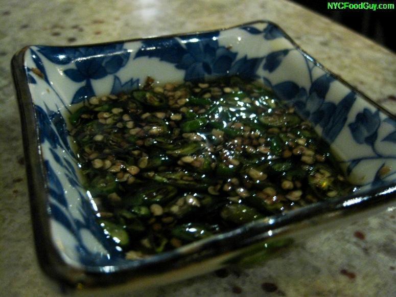Chili Padi Laut - NYCFoodGuy.com