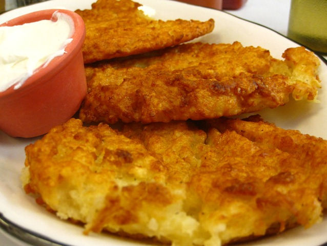B & H Vegetarian Potato Pancakes