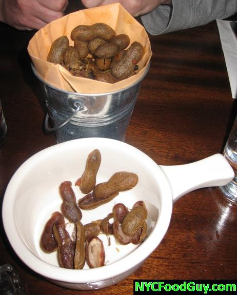 Boiled Peanuts Rye House NYCFoodGuy.com