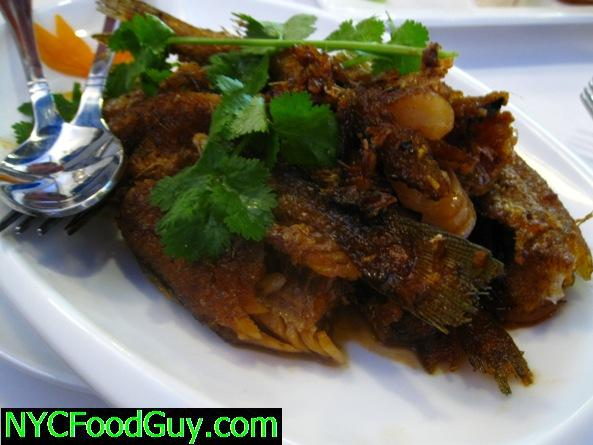 Cold Spicy Deep Fried Fish