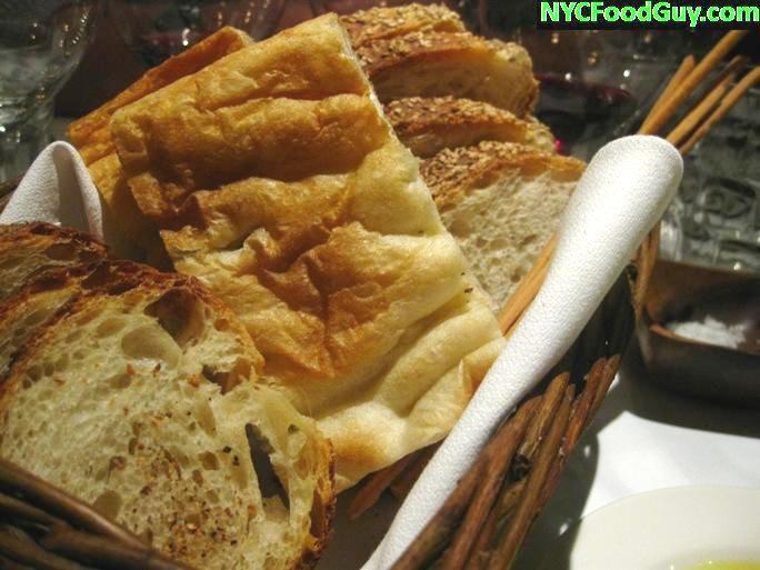Maialino Bread Basket - NYCFoodGuy.com
