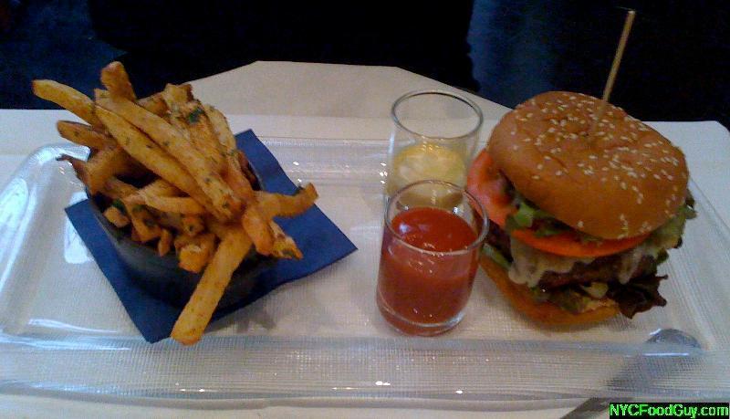 Mesa Grill Bobby's Southwest Burger
