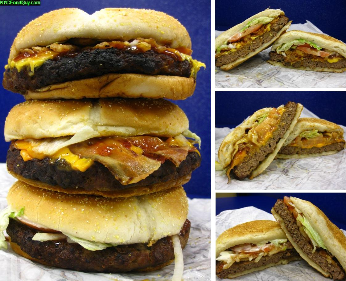 Burger King Steakhouse XT Burgers - NYCFoodGuy.com