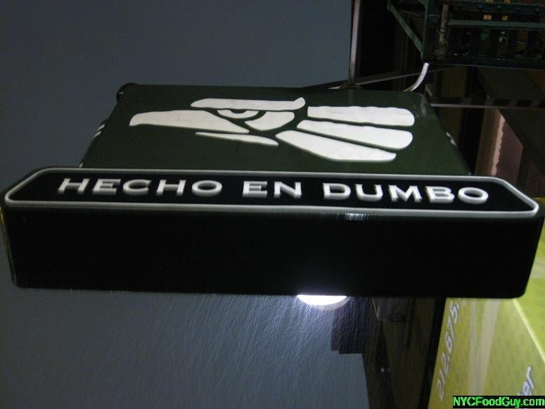 Hecho en Dumbo - NYCFoodGuy.com