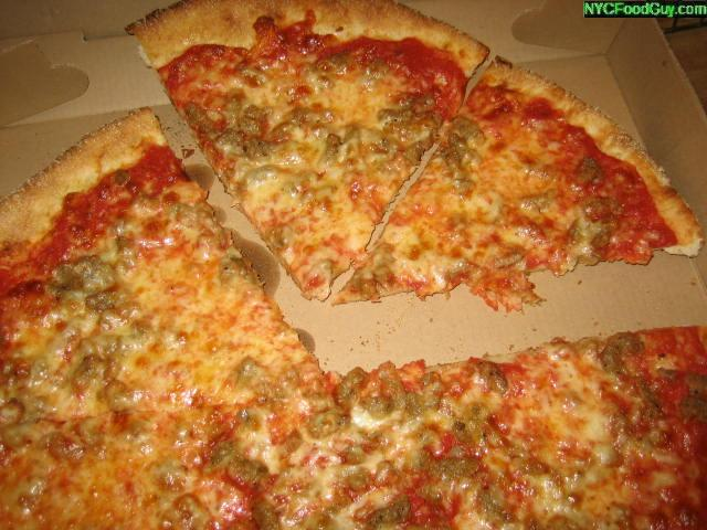 Tommy's Pizza - NYC Food Guy.com