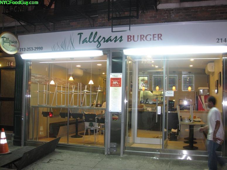 Tallgrass Burger - NYCFoodGuy.com