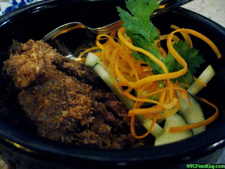 Beef Rendang Laut - NYCFoodGuy.com